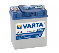 Аккумулятор Varta Blue Dynamic 40 а/ч о.п. A14