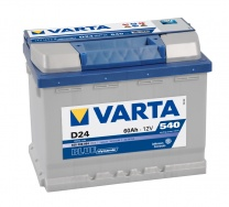 Аккумулятор Varta Blue Dynamic 60 а/ч о.п. D24