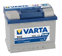 Аккумулятор Varta Blue Dynamic 60 а/ч D43