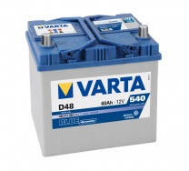 Аккумулятор Varta Blue Dynamic 60 а/ч D48 Jeep